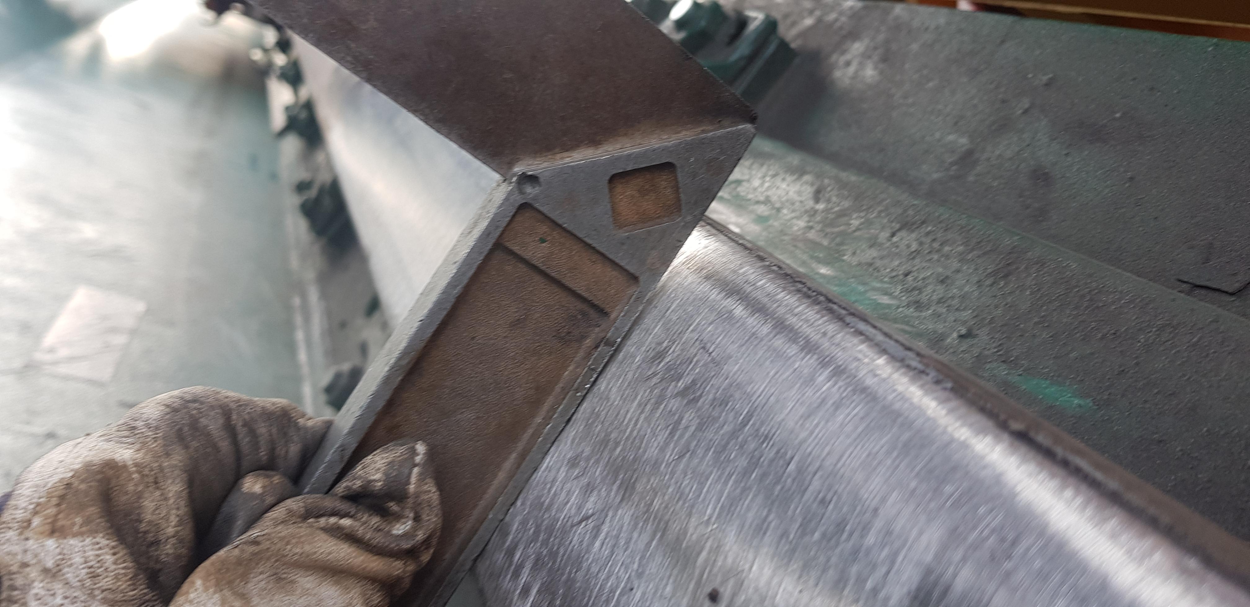 STS Crane Trolley Rail weld repair – Starkon
