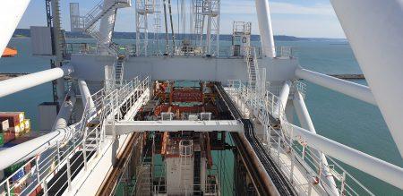 STS Crane Short Rail Replacement