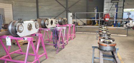 Trolley wheel refurbishment