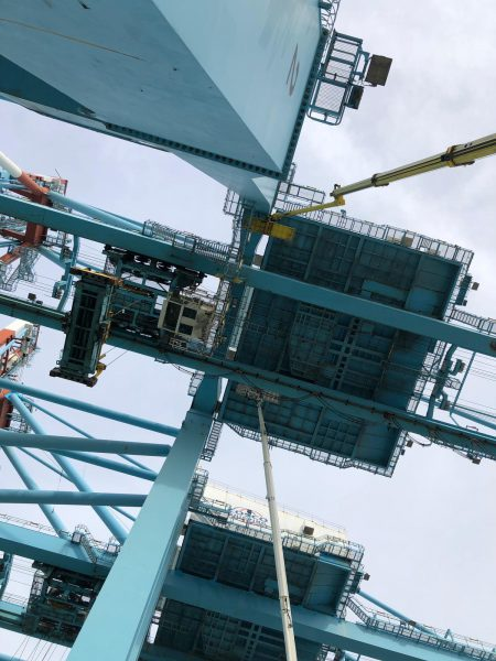 STS Crane  Structural Inspection