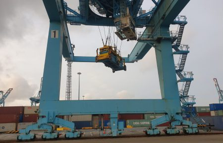 Gantry Gearbox Modification and Exchange